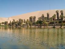 пустыня ica Перу Стоковое Фото