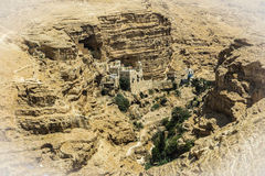 Пустыня Judaean - Святая Земля Стоковое фото RF