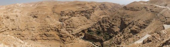 Пустыня Judaean - Святая Земля Стоковые Изображения