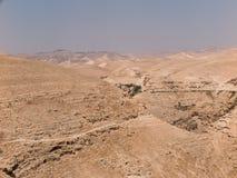 Пустыня Judaean - Святая Земля Стоковое Изображение RF