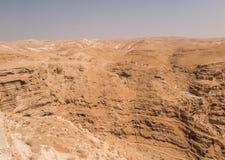 Пустыня Judaean - Святая Земля Стоковые Фото