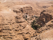 Пустыня Judaean - Святая Земля Стоковое Изображение