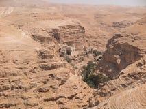 Пустыня Judaean - Святая Земля Стоковые Фотографии RF