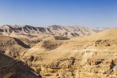 Пустыня Judean, Палестина Стоковое Изображение RF