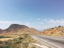 пустыня judean Стоковая Фотография