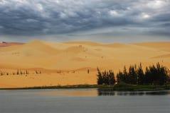 Пустыня Muine в Вьетнаме Стоковые Фото