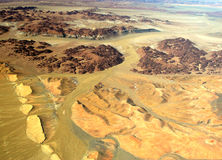 пустыня namibian Стоковое Изображение