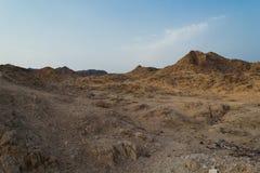 Пустыня Negev Стоковые Фотографии RF