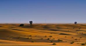 Пустыня Qudra Al Дубай Стоковая Фотография