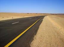Пустыня Road Стоковые Изображения RF
