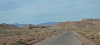 Пустыня Road Стоковая Фотография