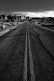 Пустыня Road Стоковая Фотография RF