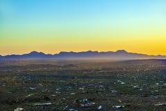 Пустыня Sonoran в Аризоне стоковое фото rf