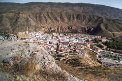 Пустыня Tabernas стоковое фото