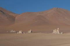 Пустыня Uyuni Стоковые Фотографии RF