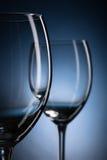 2 пустых бокала Стоковая Фотография RF