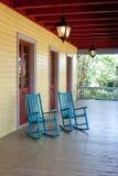 2 пустых кресло-качалки Стоковое Фото