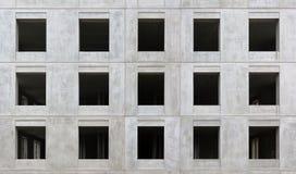15 пустых черных окон Стоковое Фото