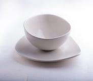 2 пустых шара помещенного на белой поверхности Стоковые Изображения RF