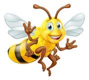 Путайте персонаж из мультфильма пчелы иллюстрация штока