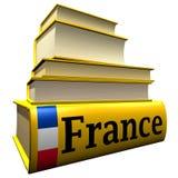 путеводители Франции словарей Стоковое Изображение RF