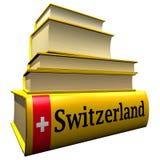 путеводители Швейцария словарей Стоковые Изображения RF