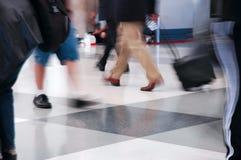 путешественники воздуха Стоковое Изображение RF