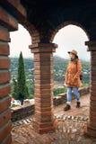 Путешественник в Georgia стоковая фотография rf