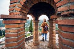 Путешественник в Georgia стоковое фото