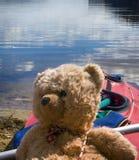 путешественник игрушки медведя Стоковая Фотография