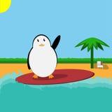 Путешественник пингвина Стоковое фото RF
