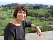 Путешественник Тосканы стоковые фотографии rf