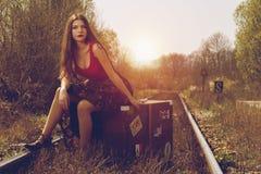 путешественник Стоковая Фотография