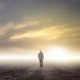 Путешествие бизнеса лидер стоковое изображение