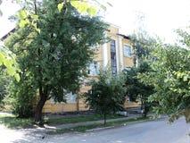 Путешествие взгляда Киева старых домов на окраинах города Стоковые Изображения RF