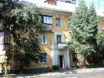 Путешествие взгляда Киева старых домов на окраинах города Стоковое Изображение RF