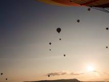 Путешествие воздушного шара в Goreme Стоковые Фотографии RF