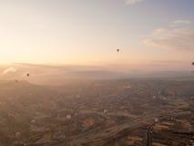 Путешествие воздушного шара в Goreme Стоковые Изображения RF