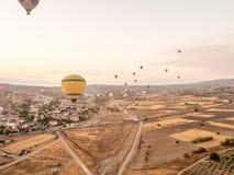 Путешествие воздушного шара в Goreme Стоковые Фото