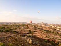 Путешествие воздушного шара в Goreme Стоковые Изображения
