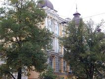 Путешествие города взгляда Киева старого здания Стоковые Фотографии RF