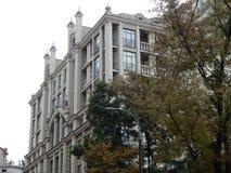 Путешествие города взгляда Киева старых зданий Стоковое Фото