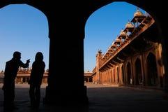 путешествие Индии направляющего выступа стоковая фотография rf