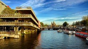 Путешествие канала в Амстердаме Стоковые Фото