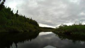 Путешествие на реке сток-видео
