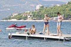 путешествие остальных Хорватии Стоковое Фото