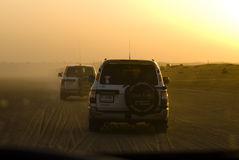 путешествие сафари пустыни 4wd Стоковые Фото