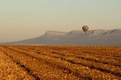 Путешествие стиля воздушного шара стоковое изображение rf