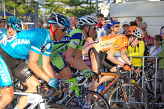 путешествие шеи велосипедистов Стоковое Изображение RF