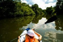 Путешествие 3 Kayak стоковые изображения